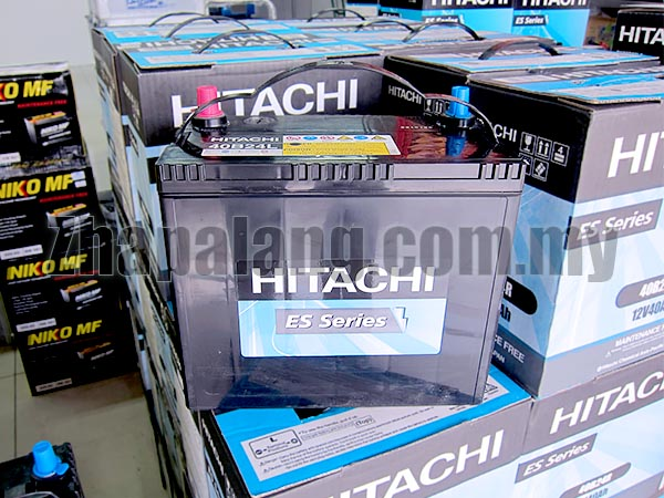 Hitachi ES Maintenance Free Battery 55D23L (Std. Warranty)