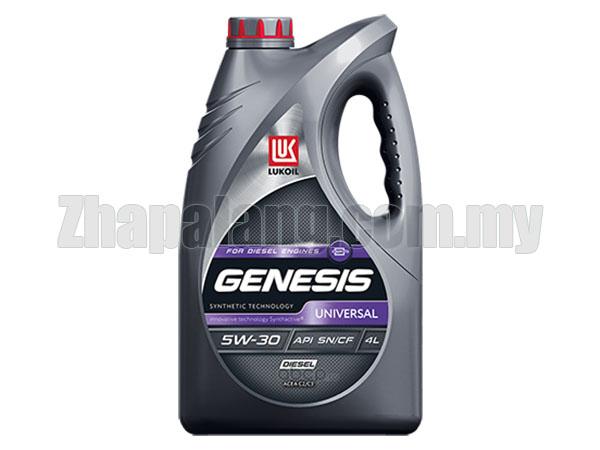 LUKOIL GENESIS Universal Semi Synthetic 5w30 Engine Oil 4L