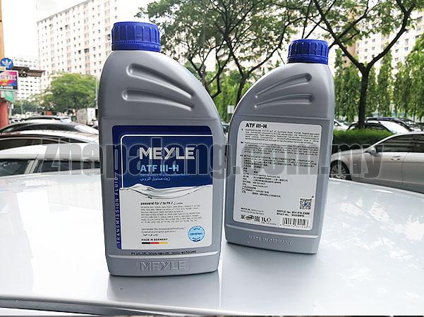 Meyle Auto Trans Fluid ATF III H for Mercedes E320 E420 SL320 SL500 SL55 AMG 1L