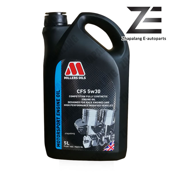 MILLERS OILS NANODRIVE CFS 5w30 Fully Synthetic Racing Engine Oil 5L