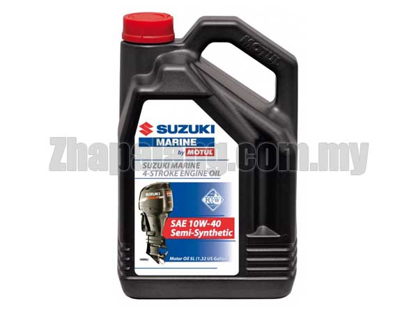 Motul Suzuki Marine 4 Stroke Engine Oil 10W40 5L