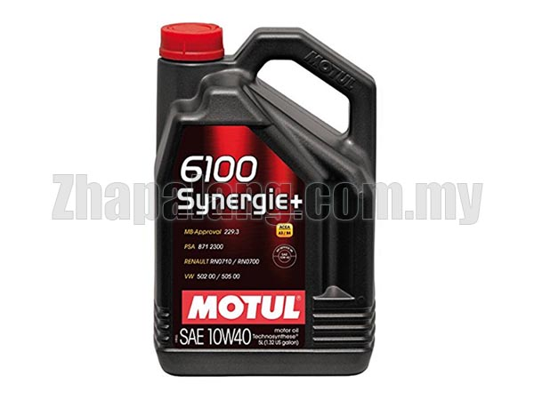 Motul 6100 Synergie+ 10w40 Semi Synthetic 4L