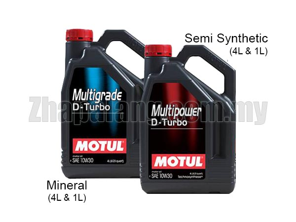 Motul Multipower D-Turbo(Diesel) Semi Synthetic 10w30 4L