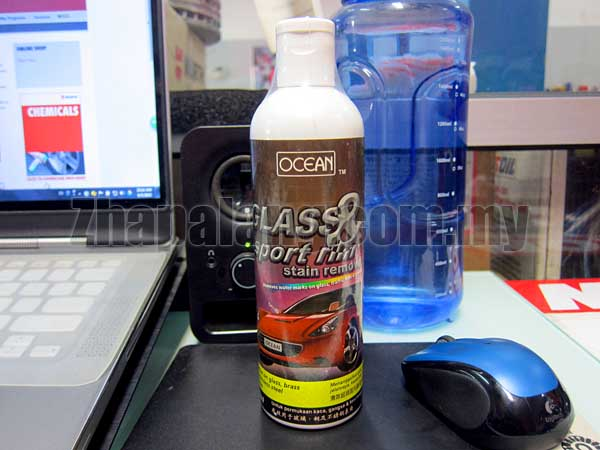 Ocean Glass & Sport Rim Stain Remover 320ml