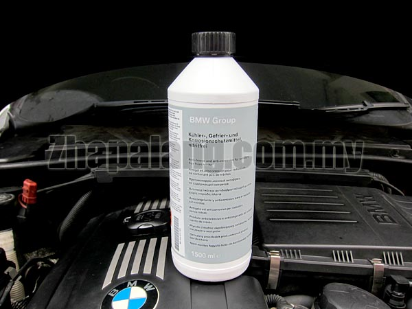 Genuine BMW Coolant 1.5 Litre Blue Concentrate 83192211913 83192211191