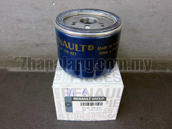 Genuine Renault Oil Filter 8200768927 for Various Petrol & Diesel Engines