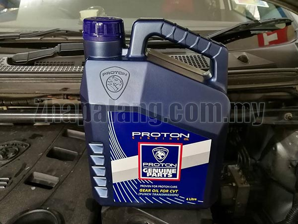 Proton Saga FLX CVT(Punch Transmission) Fluid 4L
