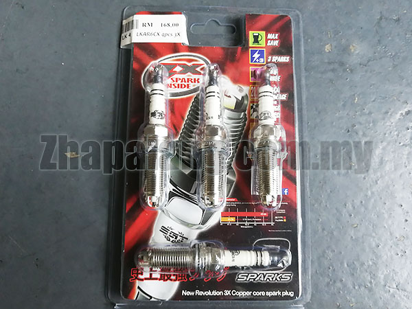 SGT 3X Performance Spark Plug BCPR6ETX - IT20 Campro