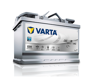 Varta Silver Dynamic AGM MF Battery 570 901 076 (LN3) (CCA 760)