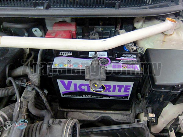 Victorite rated 5☆ Silver Calcium(Ag-Ca) MF(Maintenance Free) Car Battery NS60R(Big Terminal)