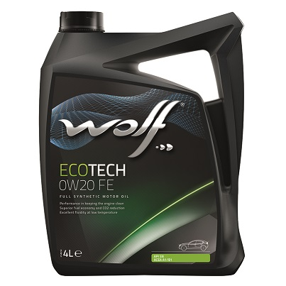 Wolf Eco Tech 0w20 FE Fully Synthetic Engine Oil - 4L