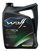 Wolf Eco Tech 0w40 FE Fully Synthetic Engine Oil - 5L
