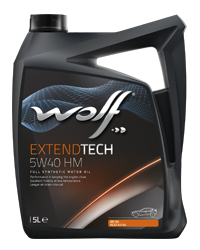 Wolf Extend Tech 5w40 HM Fully Synthetic Engine Oil - 5L