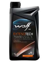 Wolf Extend Tech 75w90 Semi Synthetic LSD Oil GL5 - 1L