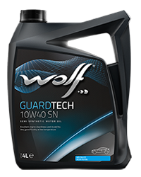 Wolf Guard Tech 10w40 SN Semi Synthetic Engine Oil - 4L