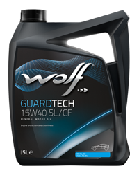 Wolf Guard Tech 15w40 SL/CF Mineral Engine Oil - 4L