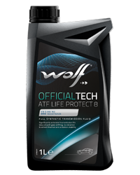 Wolf Official Tech ATF Life Protect 8 (Fully Synthetic) - 1L