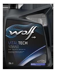 Wolf Vital Tech 10w40 Ultra CL4 Semi Synthetic Diesel Oil - 5L
