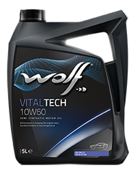 Wolf Vital Tech 10w60 Fully Synthetic Engine Oil - 5L