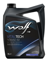Wolf Vital Tech 10w60 M Fully Synthetic Engine Oil - 5L