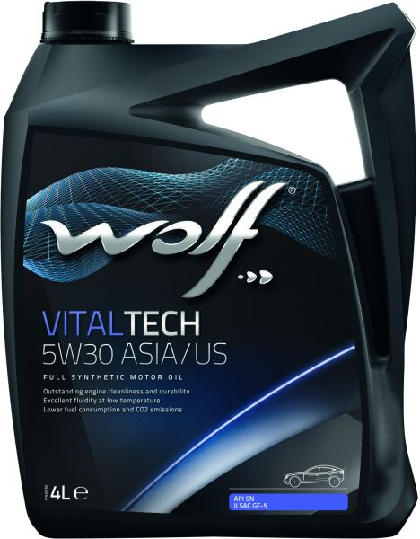 Wolf  Vital Tech 5w30 Asia/US Fully Synthetic Engine Oil - 5L
