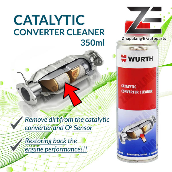Wurth CATALYTIC CONVERTER CLEANER & O2 Sensor Cleaner 350ml