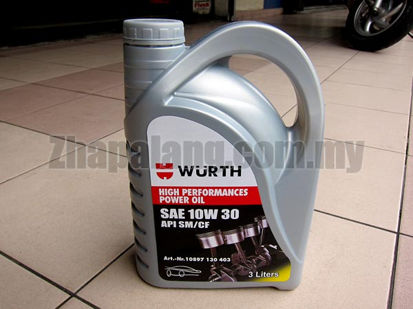Wurth Triathlon Power 10w30 Mineral 3L