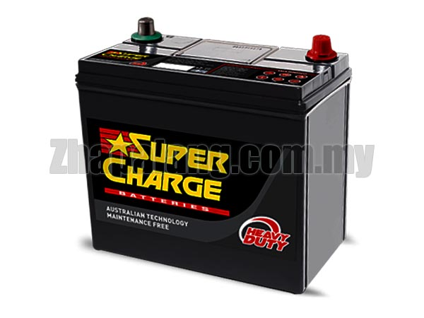 Supercharge Maintenance Free (MF) Car Battery (Low Price) DIN55R