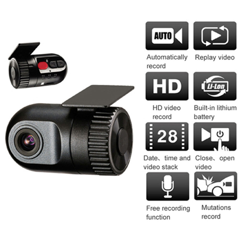 Smallest Mini HD Car DVR 720P Portable Car DVR Recorder