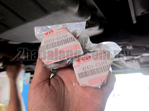 Genuine Suzuki Front Stabilizer Bushing 42431-63J10