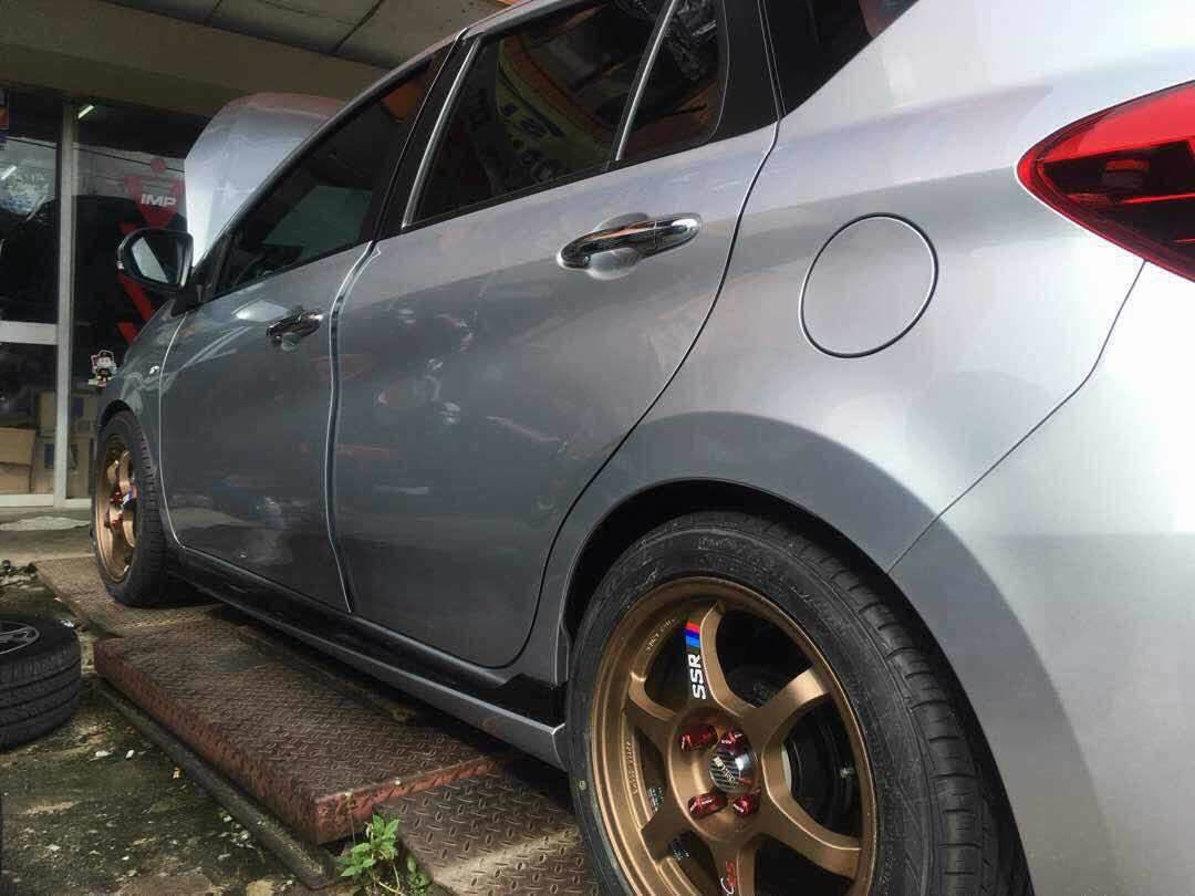 IMP(Improve) Lowered Spring for All-New Perodua Myvi 2018 - Image 1