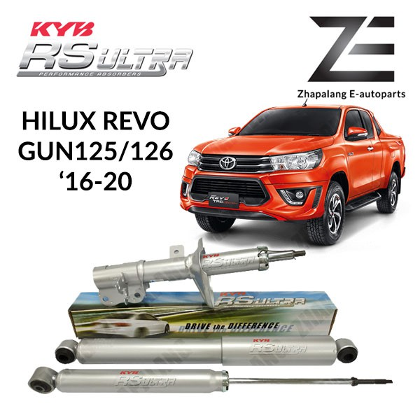 Kayaba RS Ultra Toyota Hilux Revo GUN125/126 '16-ON Absorber Front and Rear