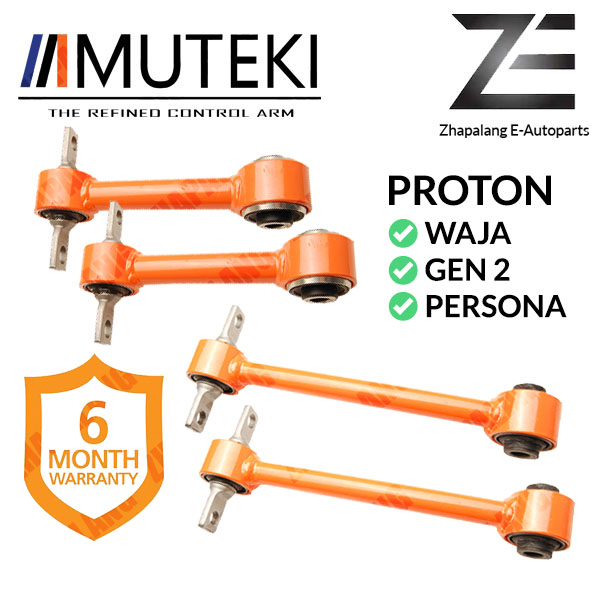 [Combo]MUTEKI REAR UPPER ARM SHORT AND LONG PROTON WAJA/GEN2/PERSONA(Tulang Anjing)