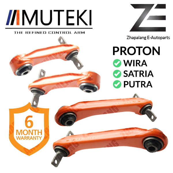 [Combo]MUTEKI REAR UPPER ARM SHORT AND LONG PROTON WIRA/SATRIA/PUTRA(Tulang Anjing)