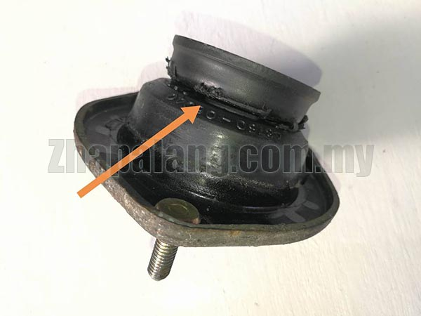 Original Rear Left Absorber Mounting for Toyota Camry SXV20 - Image 2