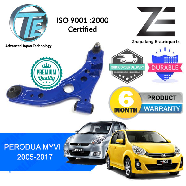 [Pair]TE Front Lower Arm Perodua Myvi 2005-2017 (OE Standard)
