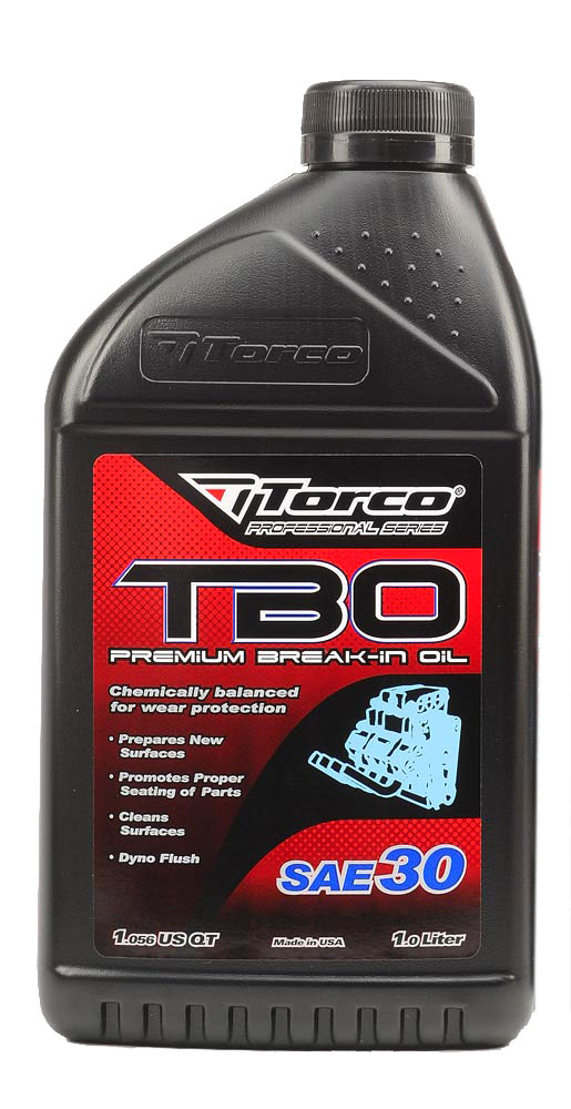 Torco TBO 30 Premium Break In Oil