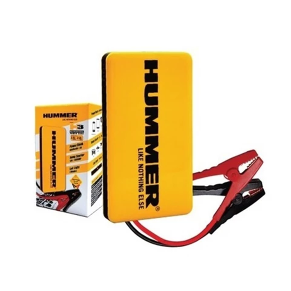 Hummer H3 Multifunctional Power Bank Jump Starter (6000mAh) Safe and Premium Quality