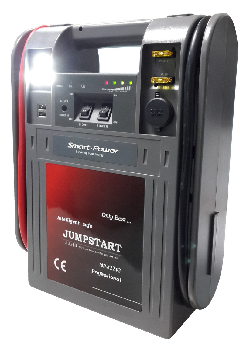 MP822V2 Intelligent Jumpstart with AC power System