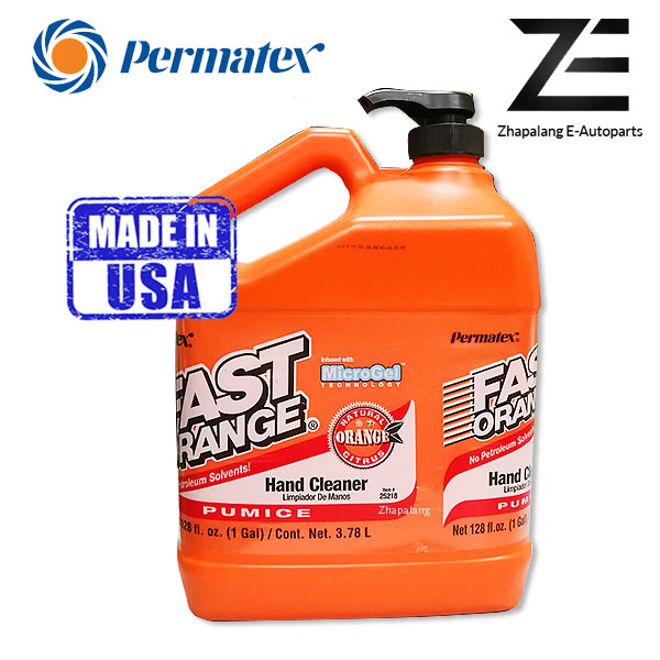 Permatex Fast Orange Soap Pumice Lotion Hand Protect Fast Cleaner (3.78 L / 1GAL) Code: 25218 - Image 1