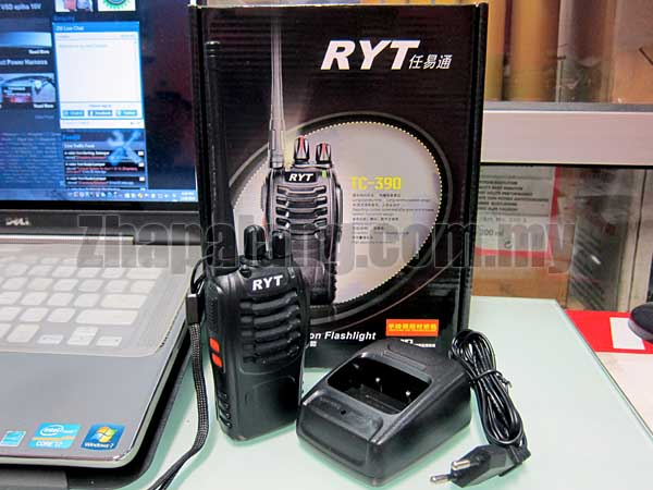 RYT TC-390 Portable Radio UHF 400 - 470 Mhz 16CH 5W CTCSS/DCS Walkie Talkie