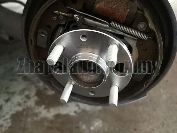 Mazda 2 Second Quality Rear Wheel bearing Assy - Image 3