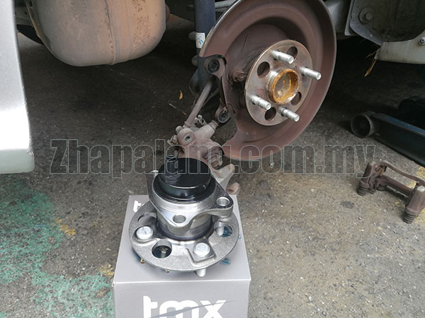 TMX Rear Wheel Bearing with Internal ABS Sensor for Toyota Vios NCP93 - Image 2