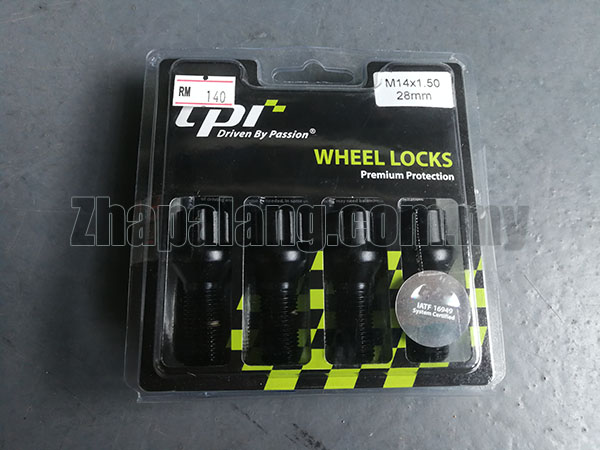 TPI Locking Wheel Nuts M14 X 1.50 28MM Great Quality