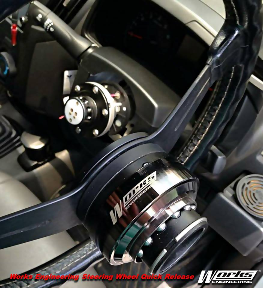 Works Engineering Steering Wheel Quick Release