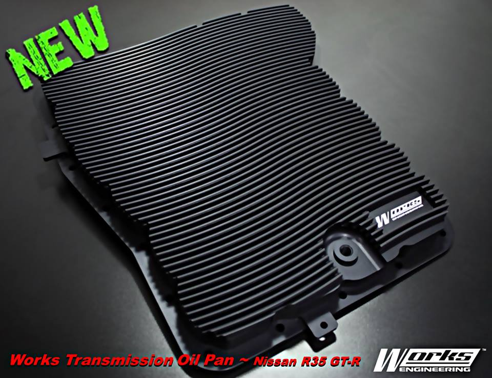 Works Engineering Transmission Oil Pan Nissan R35 GT-R