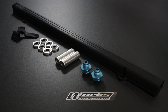 Works Engineering Toyota Supra 3.0 2JZ Fuel Rail Kit