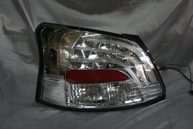 Toyota Vios 07 Chrome Face Clear Lens Light Bar + Led Tail Lamp