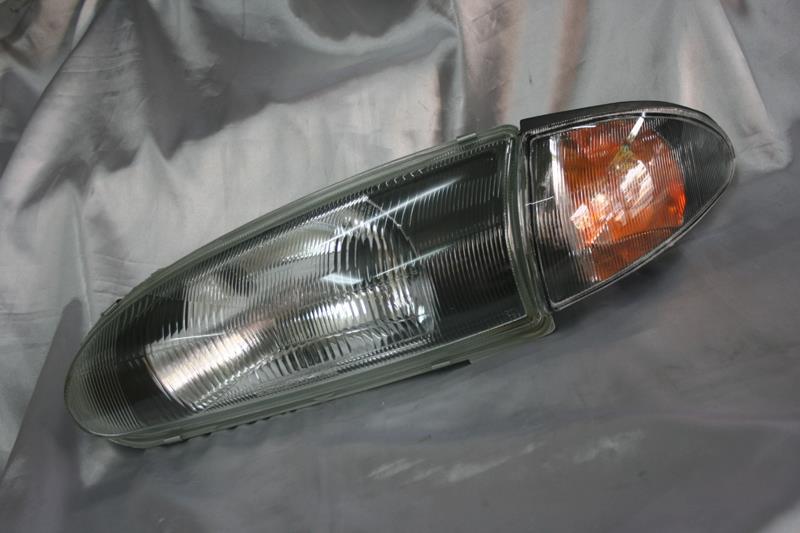 Proton Wira Satria Putra  Black Face SE Headlamp + Corner Lamp