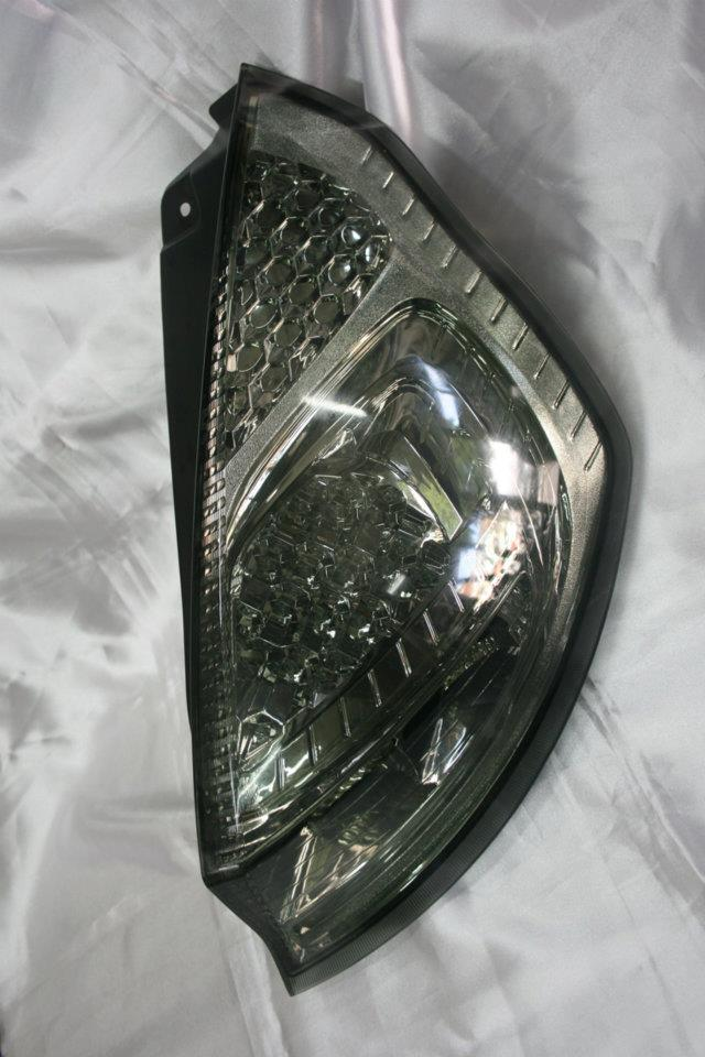 Ford Fiesta Full Smoke LED Tail Lamp